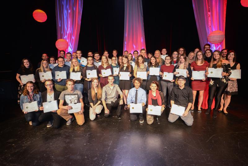 Gala de reconnaissance du mérite collégial - 18 octobre 2017